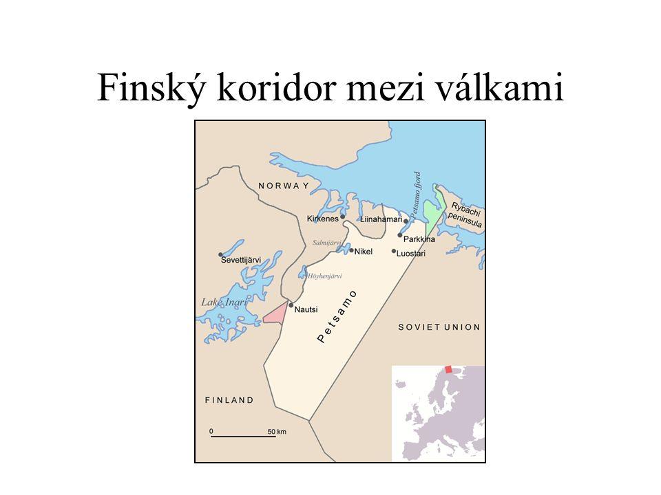 Finský koridor mezi válkami