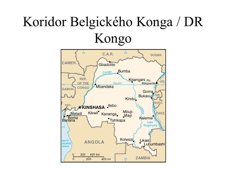 Koridor Belgického Konga / DR Kongo