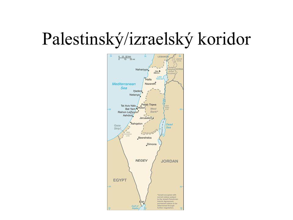 Palestinský/izraelský koridor