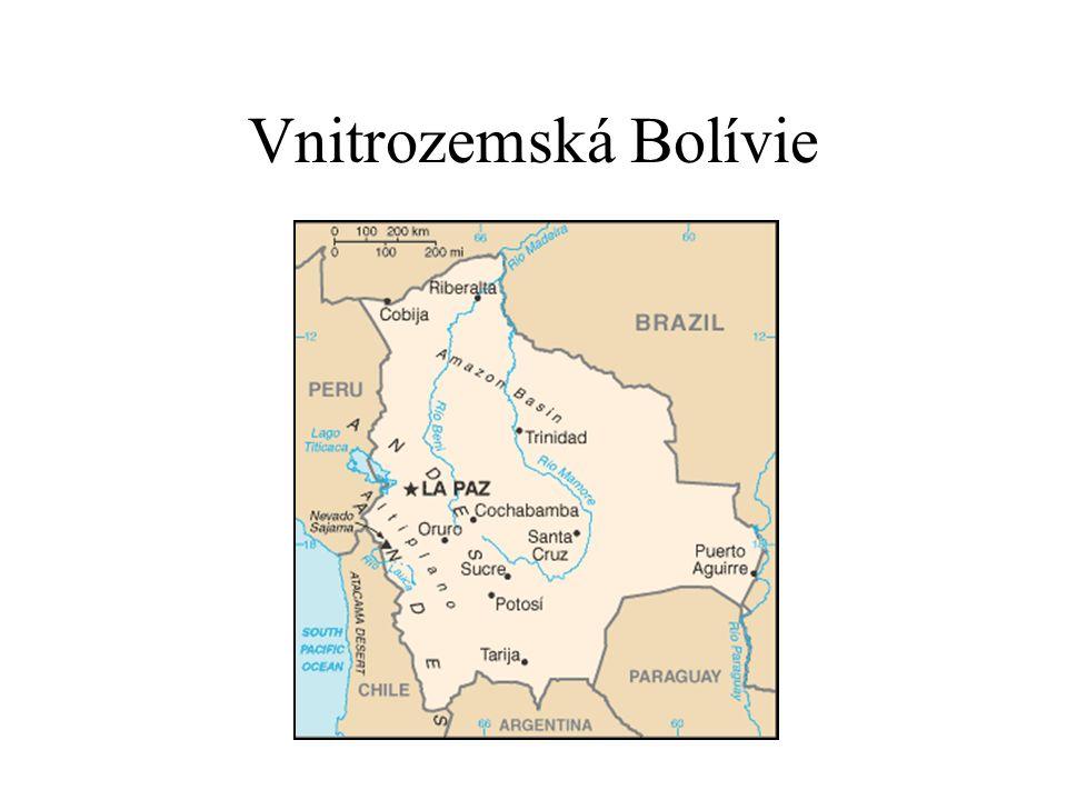 Vnitrozemská Bolívie