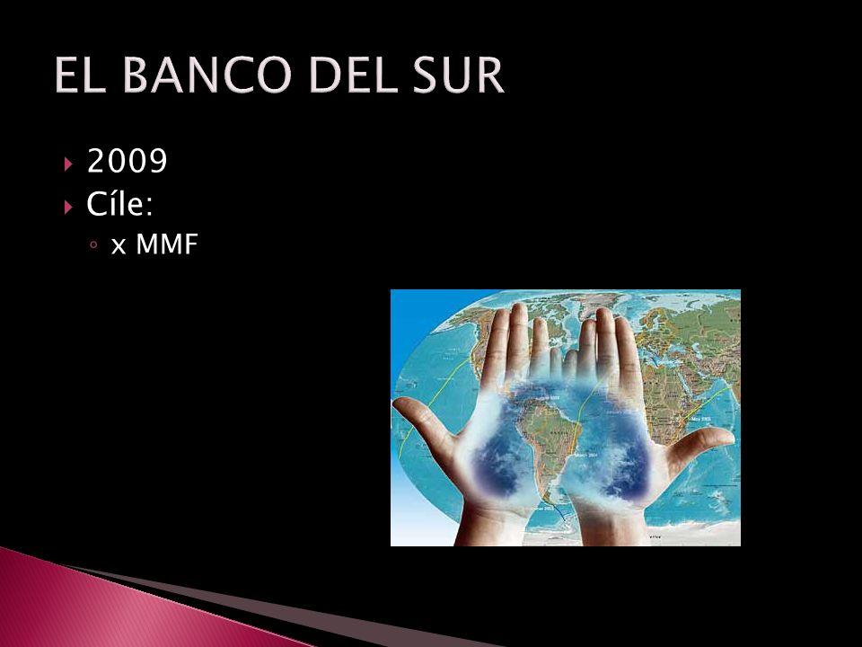  2009  Cíle: ◦ x MMF
