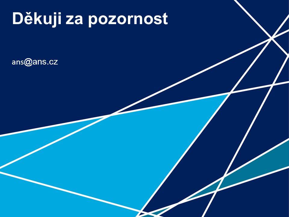 11 Děkuji za pozornost ans @ans.cz