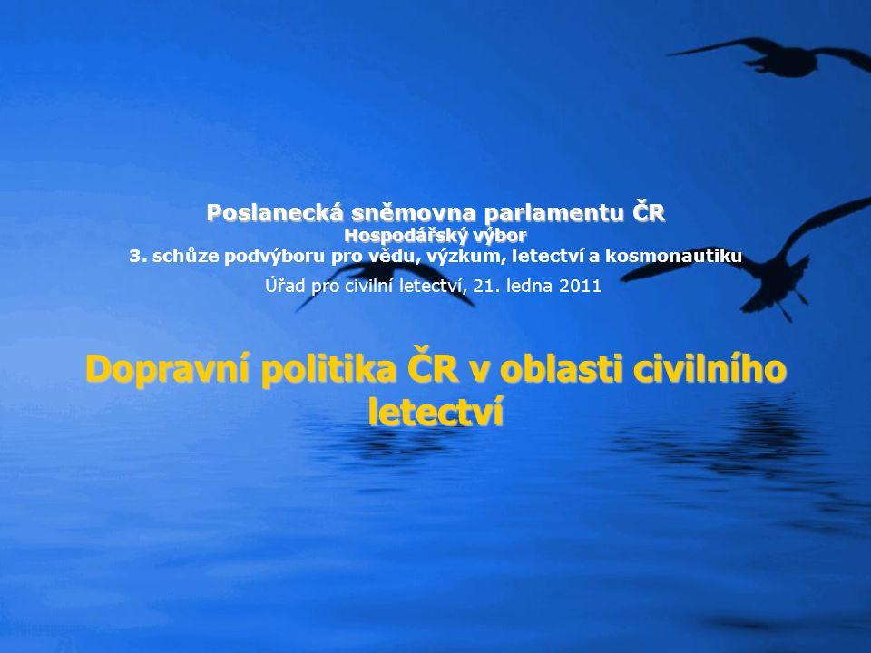Poslanecká sněmovna parlamentu ČR Hospodářský výbor 3.