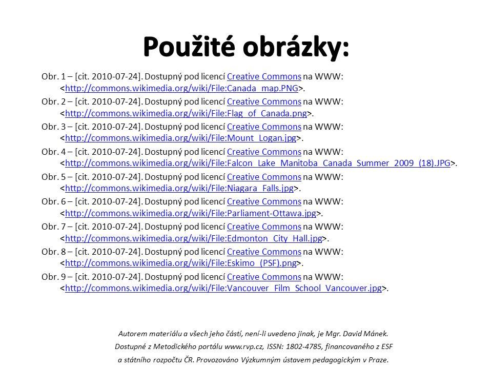 Použité obrázky: Obr. 1 – [cit. 2010-07-24].