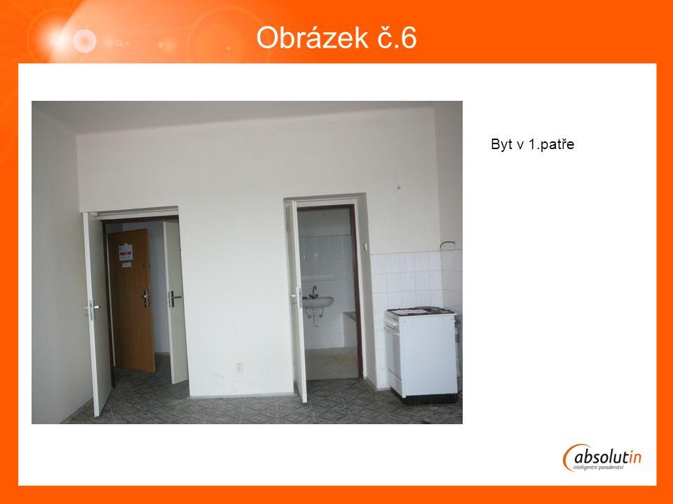 Obrázek č.6 Byt v 1.patře