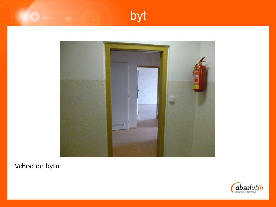 byt Vchod do bytu