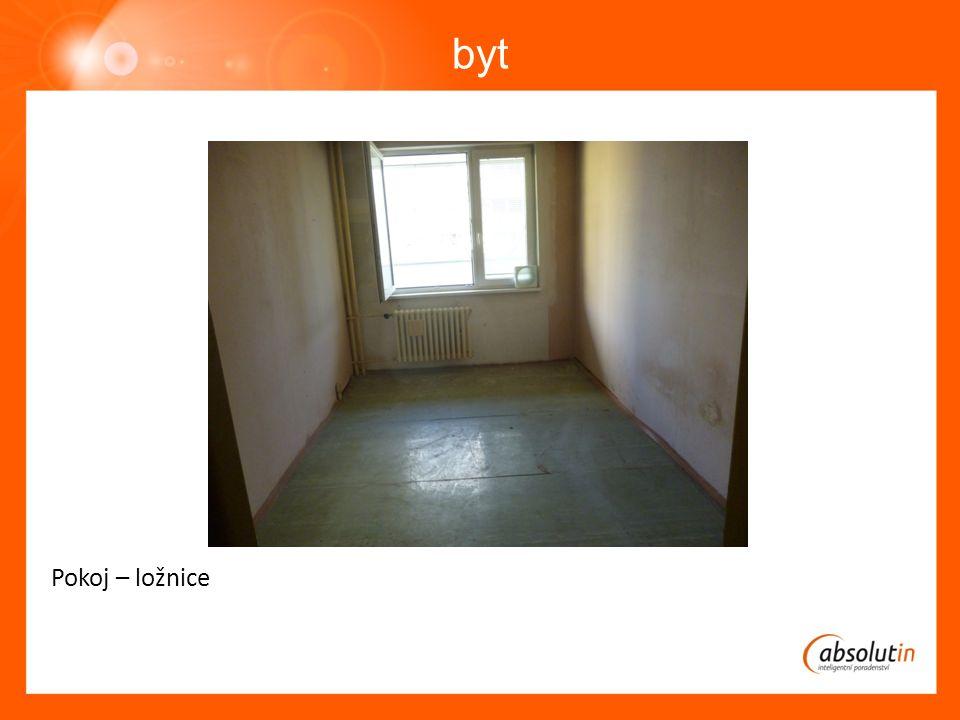 byt Pokoj – ložnice
