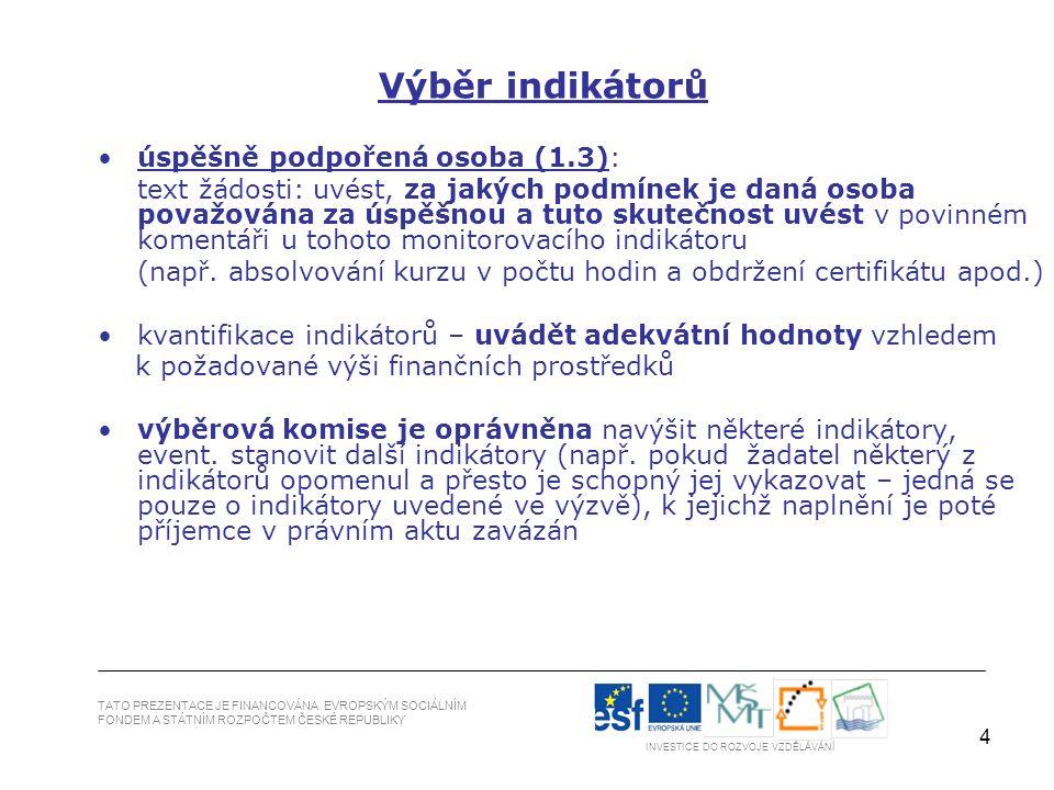 55 TATO PREZENTACE JE FINANCOVÁNA EVROPSKÝM SOCIÁLNÍM FONDEM A STÁTNÍM ROZPOČTEM ČESKÉ REPUBLIKY 1.
