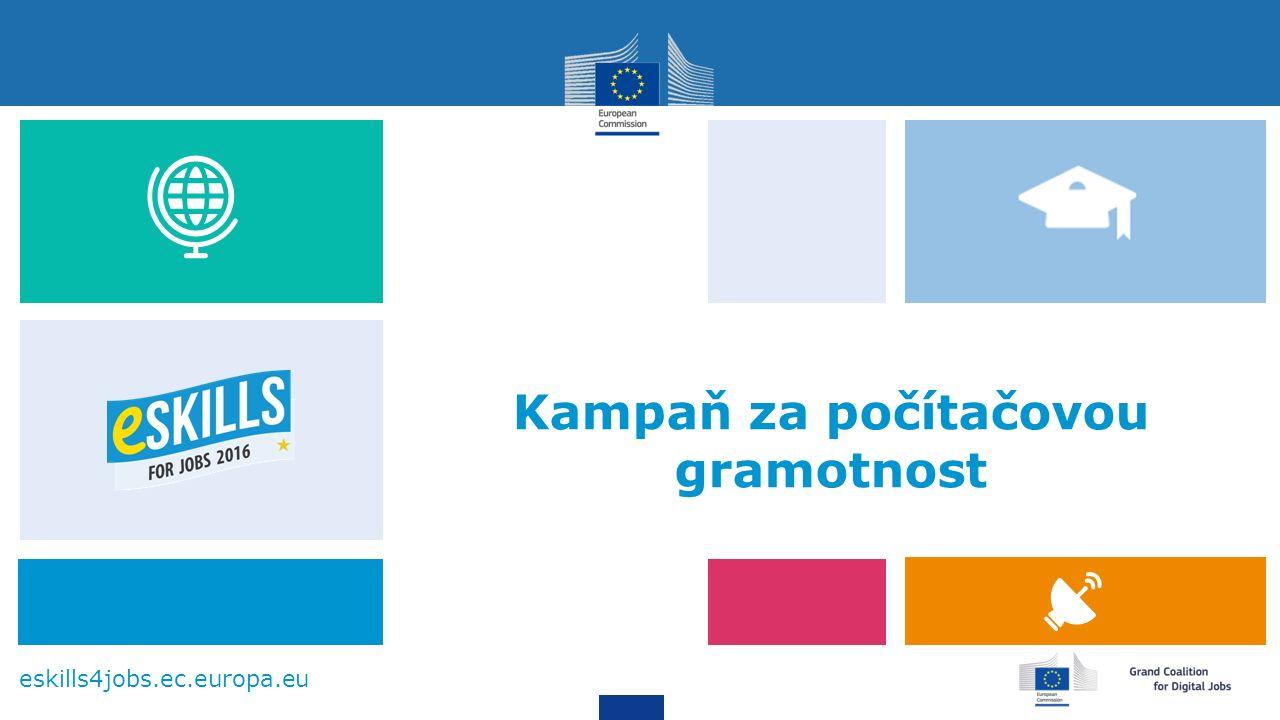 eskills4jobs.ec.europa.eu Kampaň za počítačovou gramotnost