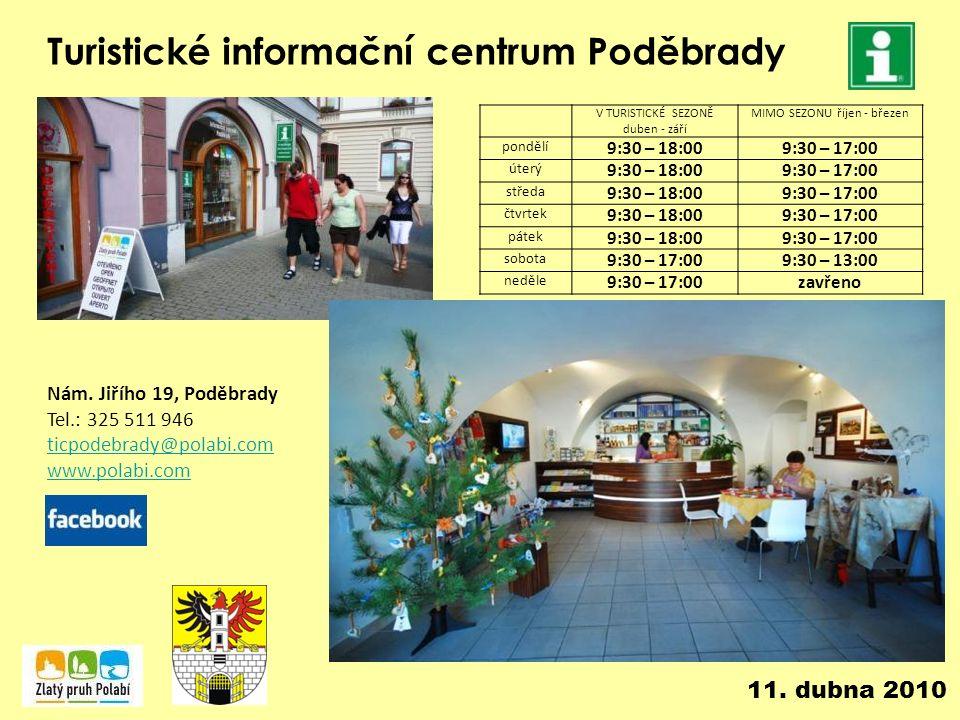 Turistické informační centrum Poděbrady Nám.