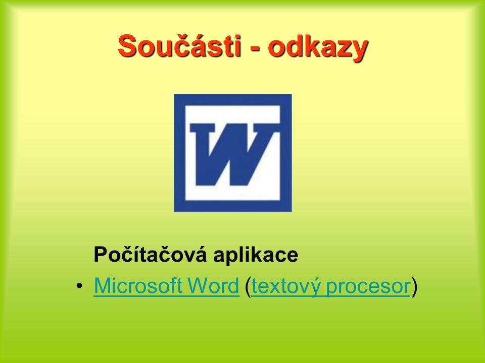 Zdroje http://cs.wikipedia.org/wiki/Microsoft_Office http://office.microsoft.com/cs-cz/word/