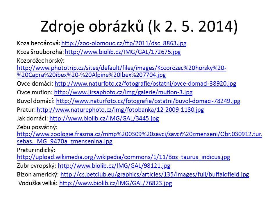 Zdroje obrázků (k 2. 5.