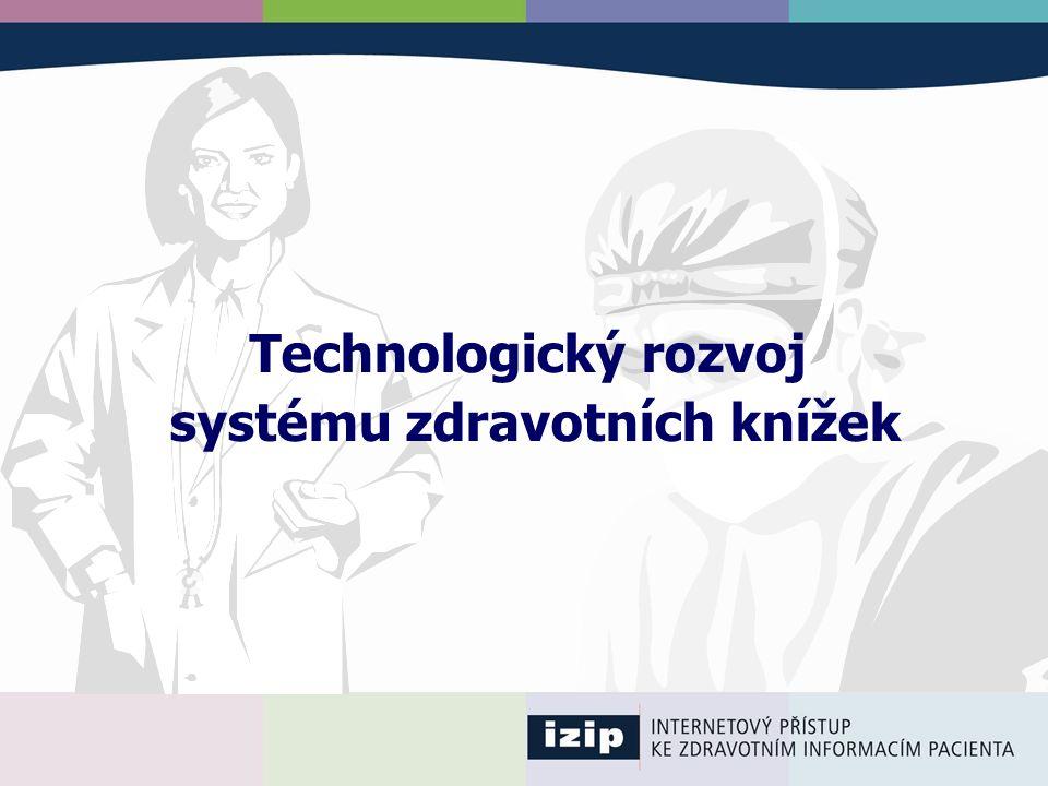 Technologický rozvoj systému zdravotních knížek