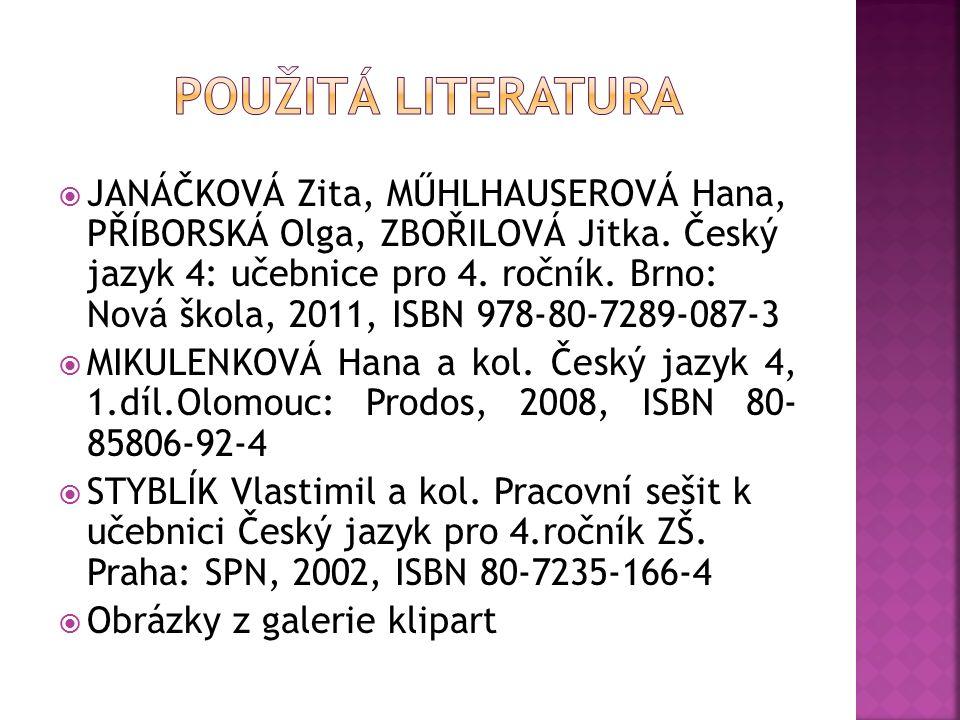  JANÁČKOVÁ Zita, MŰHLHAUSEROVÁ Hana, PŘÍBORSKÁ Olga, ZBOŘILOVÁ Jitka.