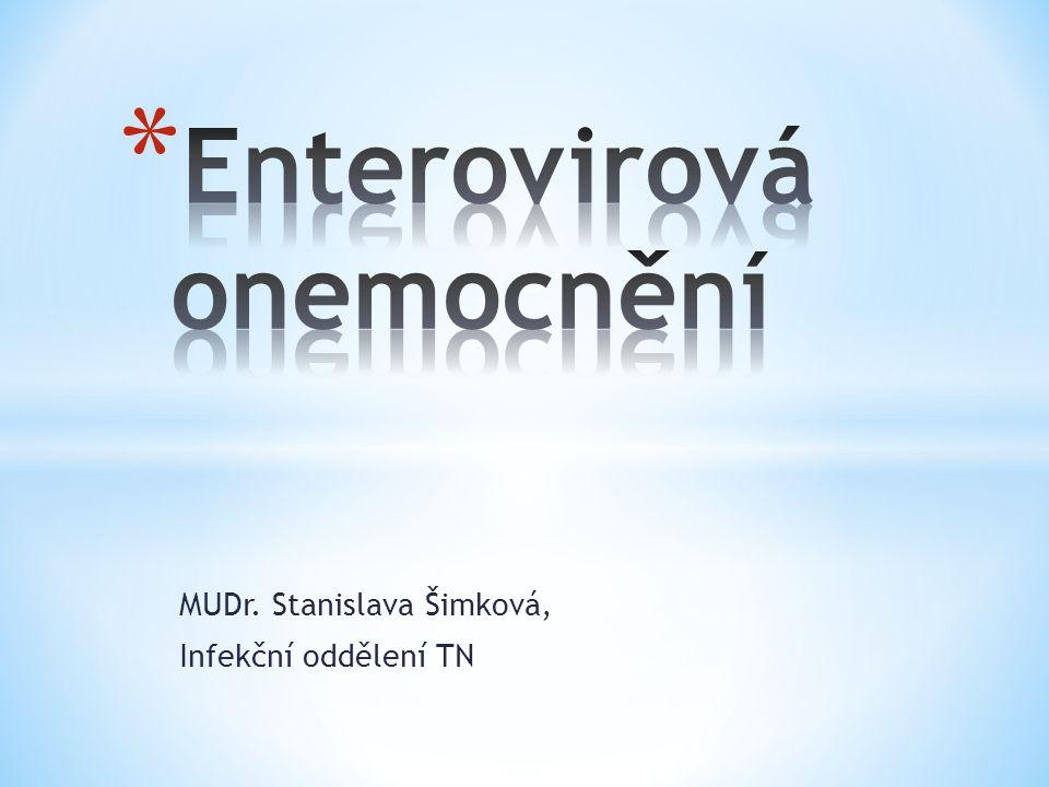 MUDr. Stanislava Šimková, Infekční oddělení TN