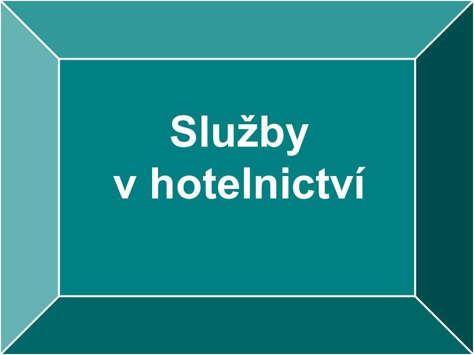 Služby v hotelnictví