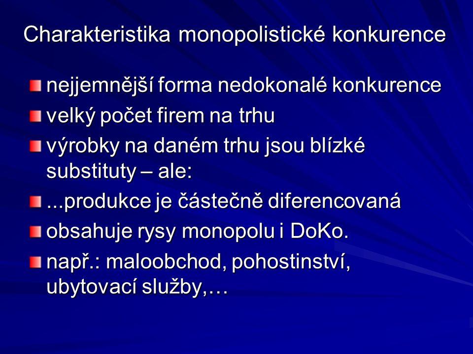 Literatura Soukupová et al.: Mikroekonomie.Kapitola 10, str.
