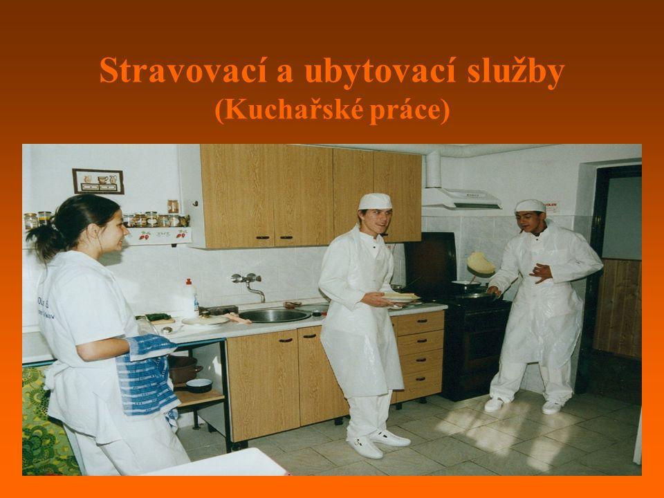 Stravovací a ubytovací služby (Kuchařské práce)