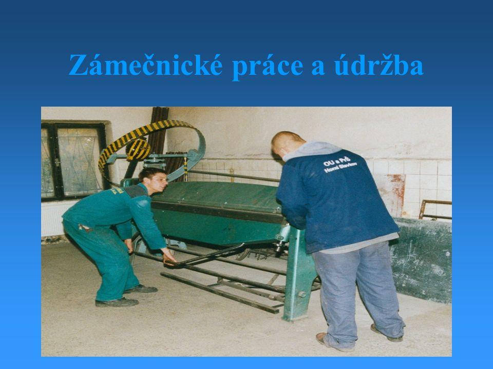 Zámečnické práce a údržba