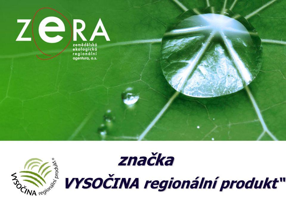 """www.zeraagency.euwww.domaci-vyrobky.cz značka """"VYSOČINA regionální produkt"""
