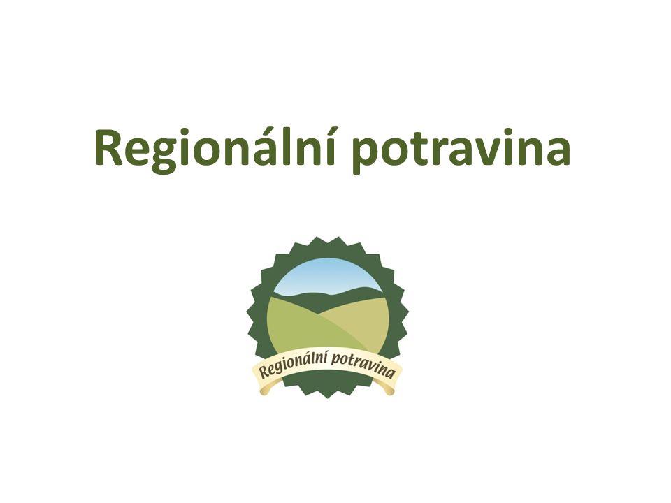 Projekt Regionální potravina podpora malých a středních producentů potravin cílem je představit to nejlepší z potravinářské produkce v jednotlivých krajích ČR princip udělení značky na základě soutěže značku uděluje ministr zemědělství od roku 2010