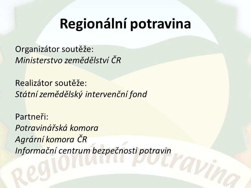 Historie 1.ročník 2010: 6 kategorií, oprávněnost užívání loga po dobu 6 roků 2.