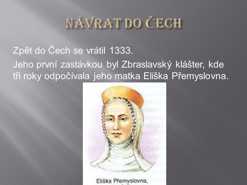 Zpět do Čech se vrátil 1333.