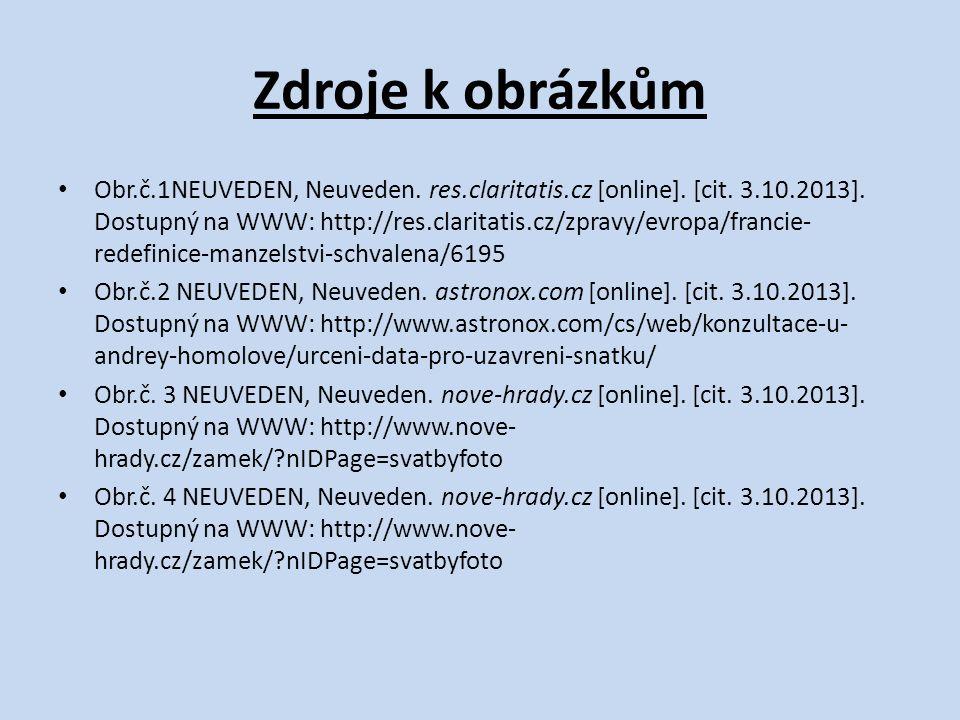 Zdroje k obrázkům Obr.č.1NEUVEDEN, Neuveden. res.claritatis.cz [online].