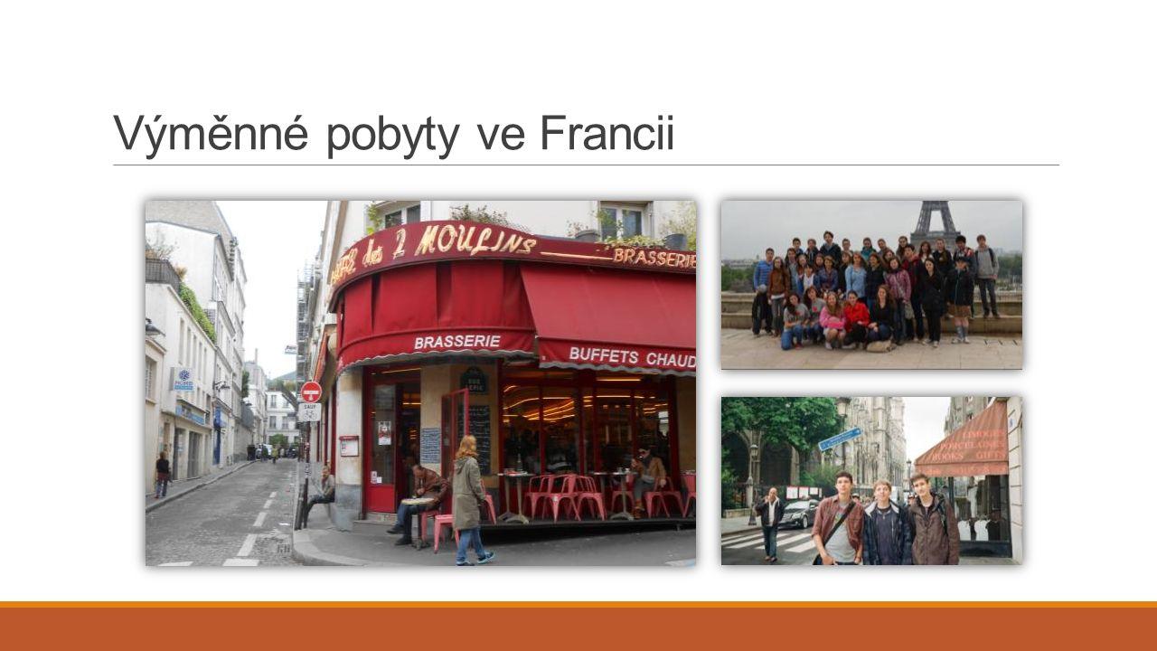 Výměnné pobyty ve Francii