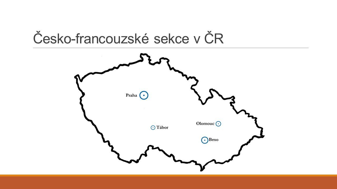 Česko-francouzské sekce v ČR