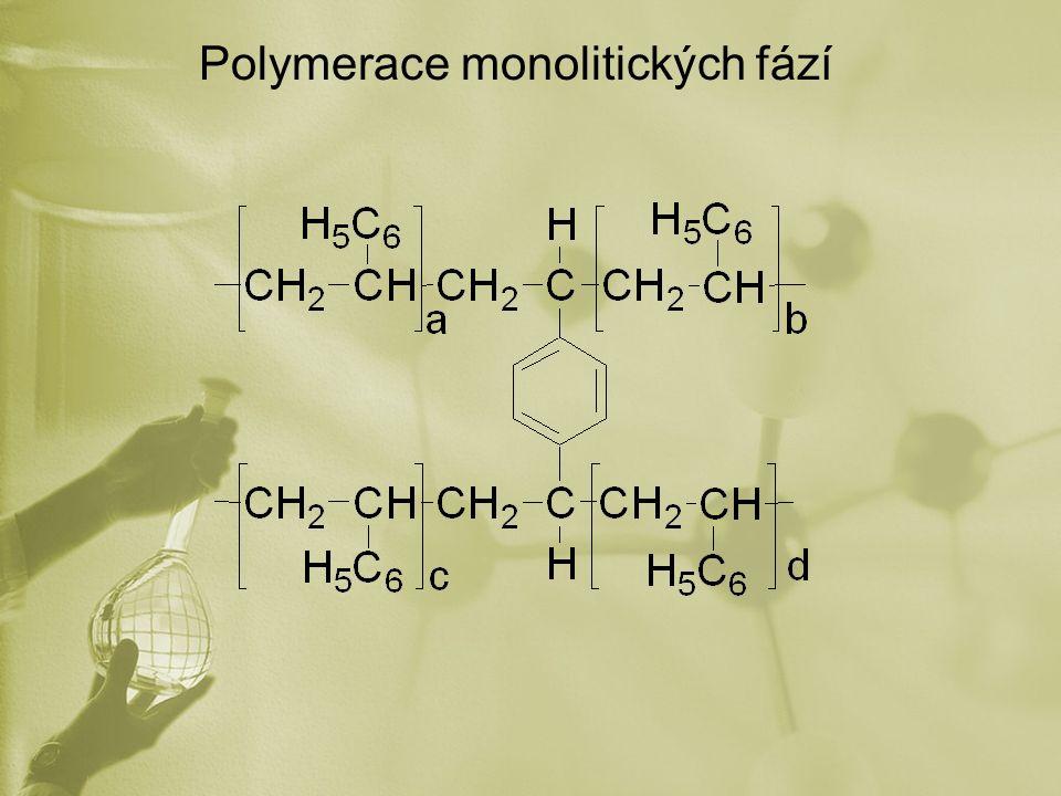 Polymerace monolitických fází