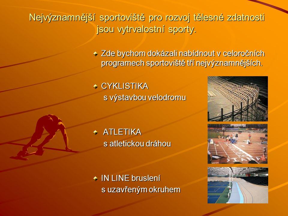 Základem zdravého způsobu života jsou pravidelné a celoroční sportovní aktivity.