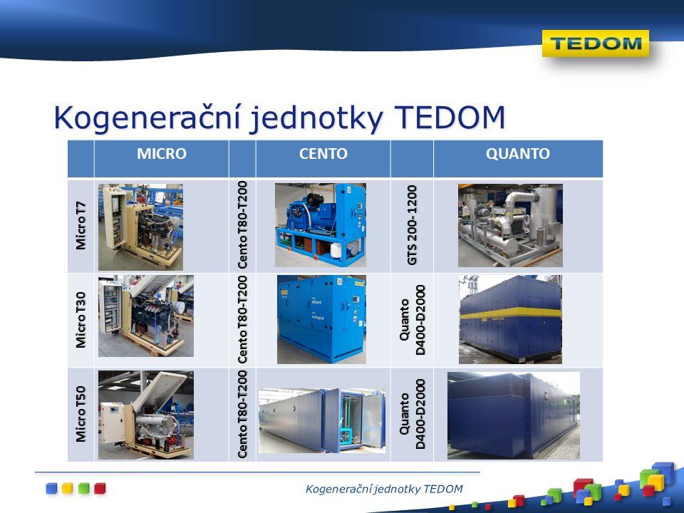 SVIT, Slovensko (2010) 6 jednotek, 12 MW e energocentrum GETLINI, Lotyšsko (2001) 5 jednotek, 5,2 MW e skládka SYDNEY, Austrálie (2012) 4 jednotky, 11,8 MW e letiště Příklady nasazení