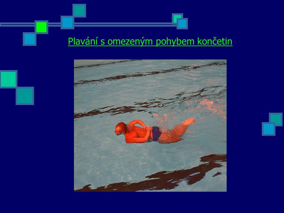 Plavání s omezeným pohybem končetin