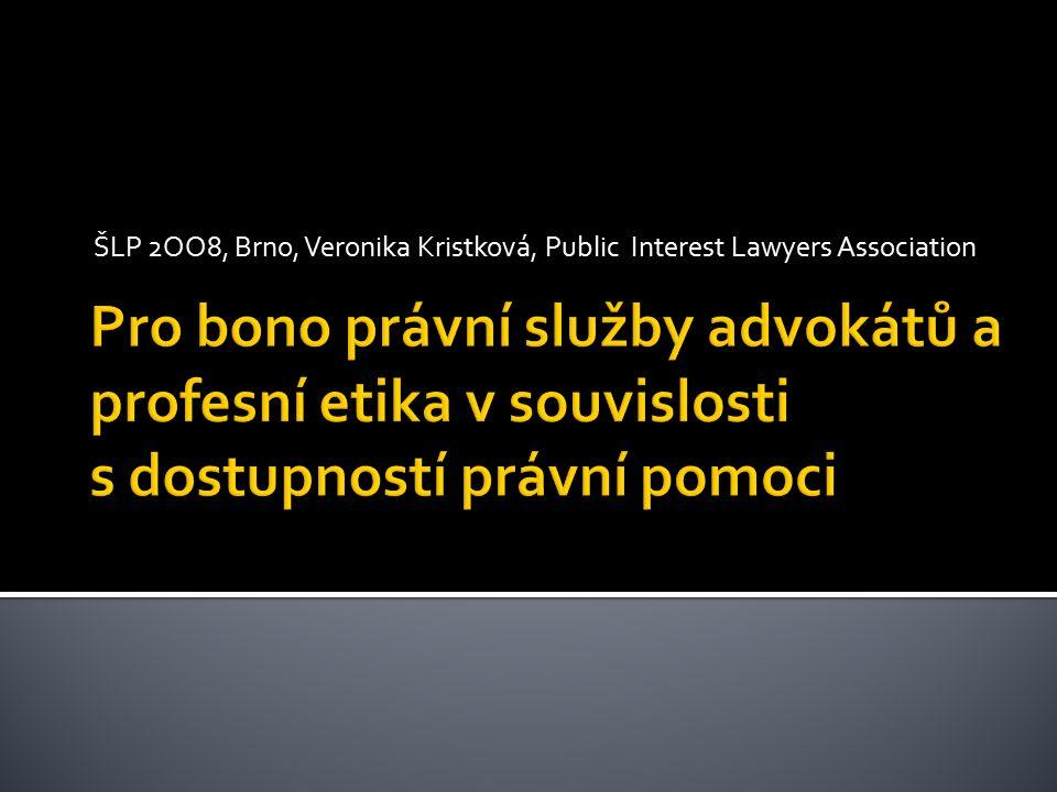  Právo na právní pomoc v českém právním řádu (z principu rovnosti práv a práva na soudní ochranu práv a oprávněných zájmů, čl.