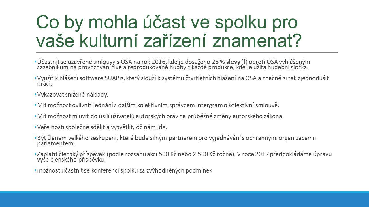 Kam směřuje autorské právo v ČR.