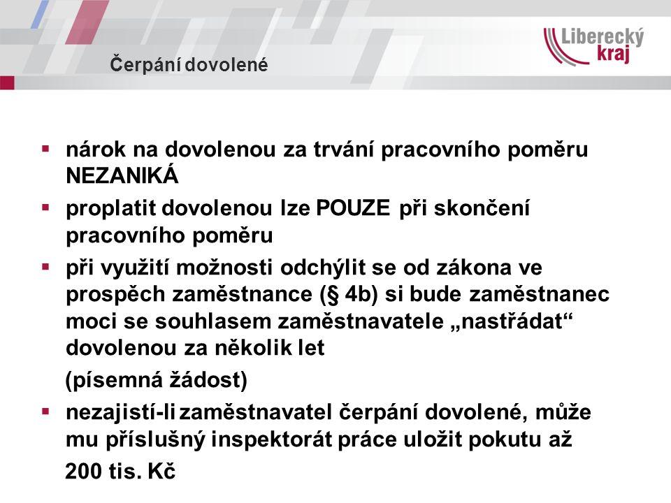 Novela zákoníku práce  Z.č.