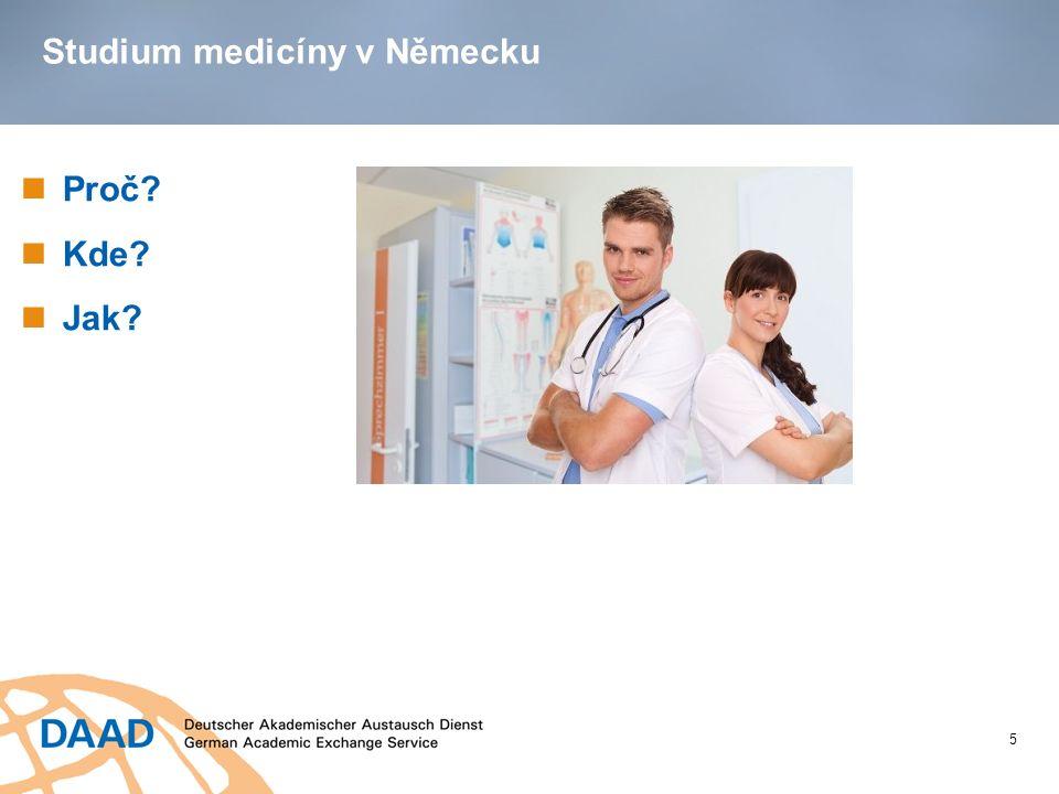 Studium medicíny v Německu Proč? Kde? Jak? 5