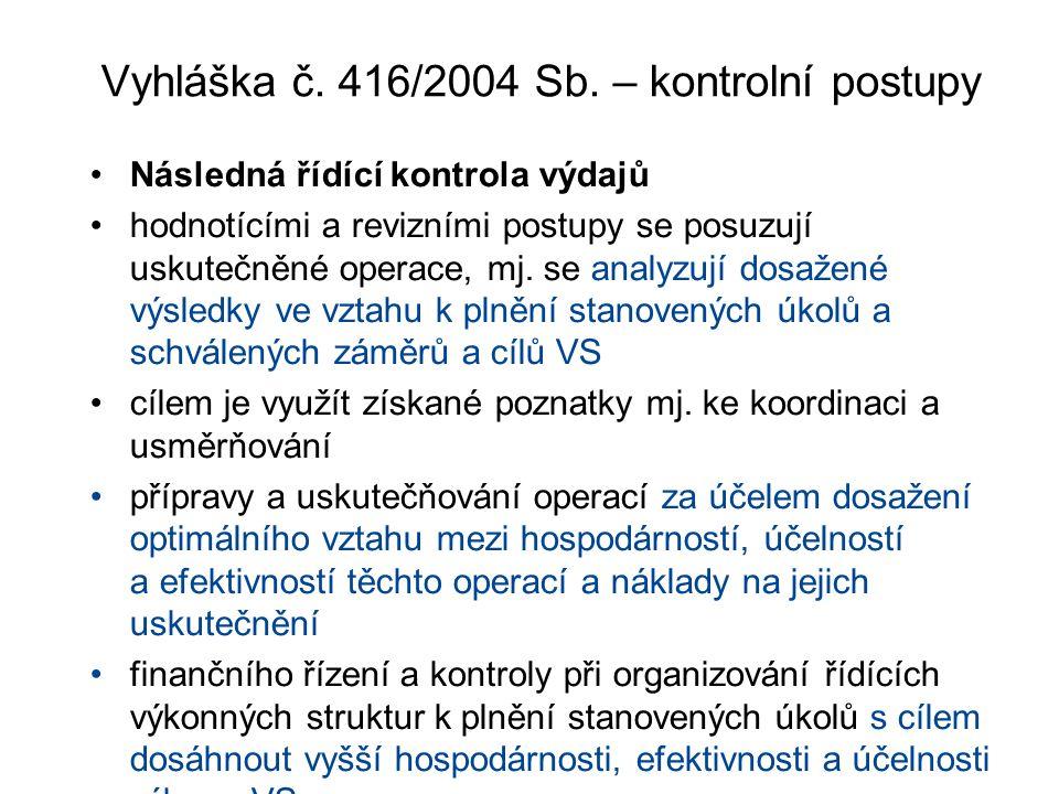 Vyhláška č. 416/2004 Sb.