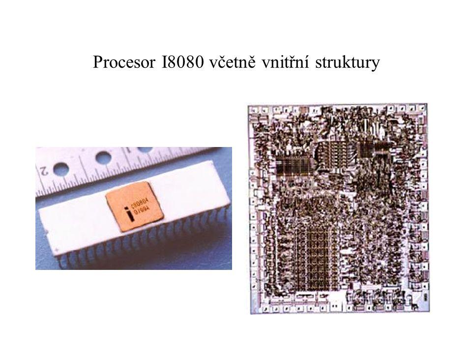 Procesor I8080 včetně vnitřní struktury