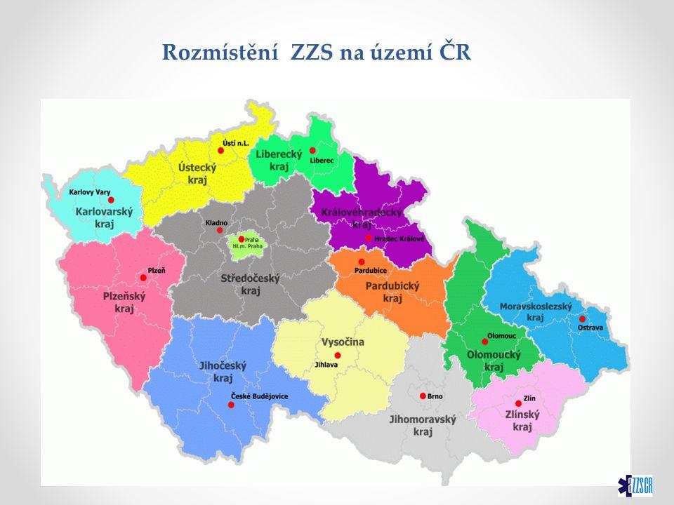 V současné době je ČR pokryta sítí 10 základen letecké záchranné služby.