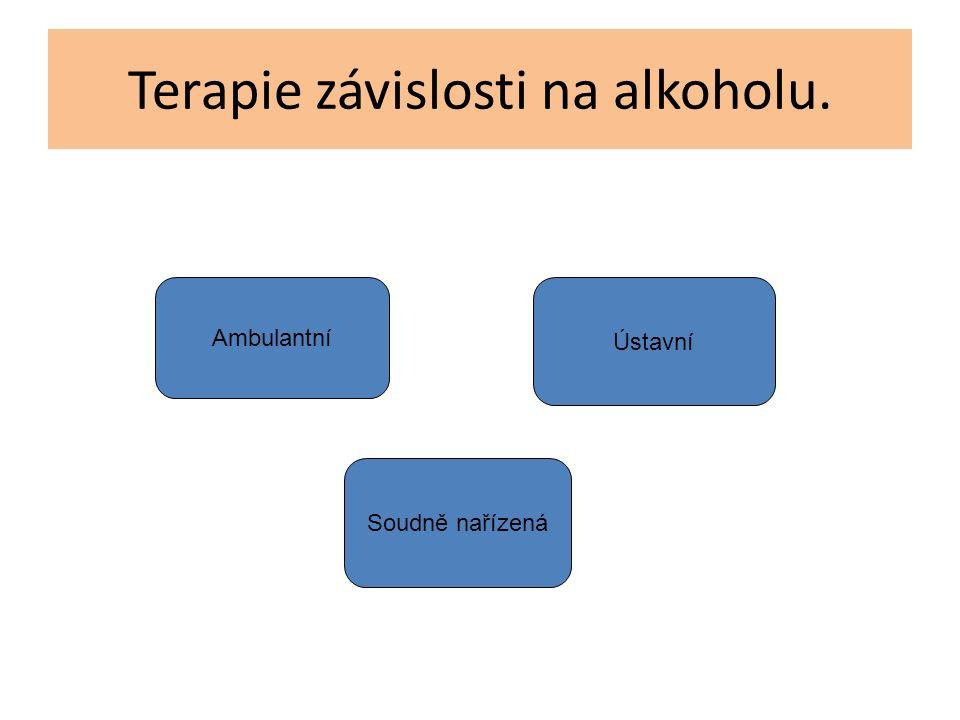 Terapie závislosti na alkoholu. Ambulantní Ústavní Soudně nařízená