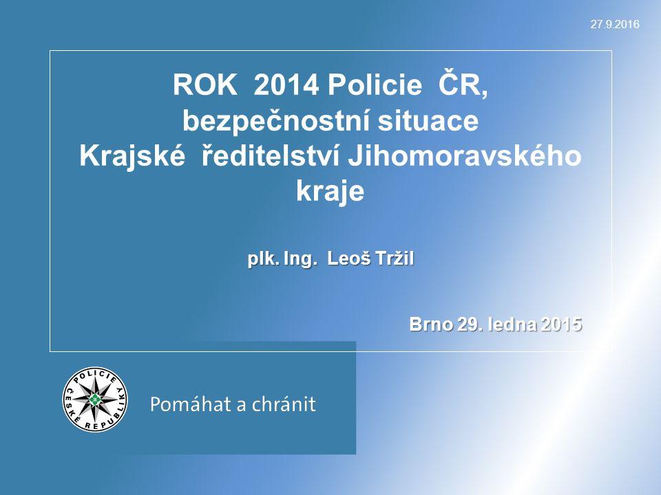 27.9.2016 plk. Ing. Leoš Tržil Brno 29.