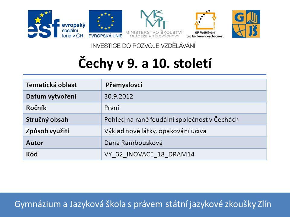 České kmeny V 9.