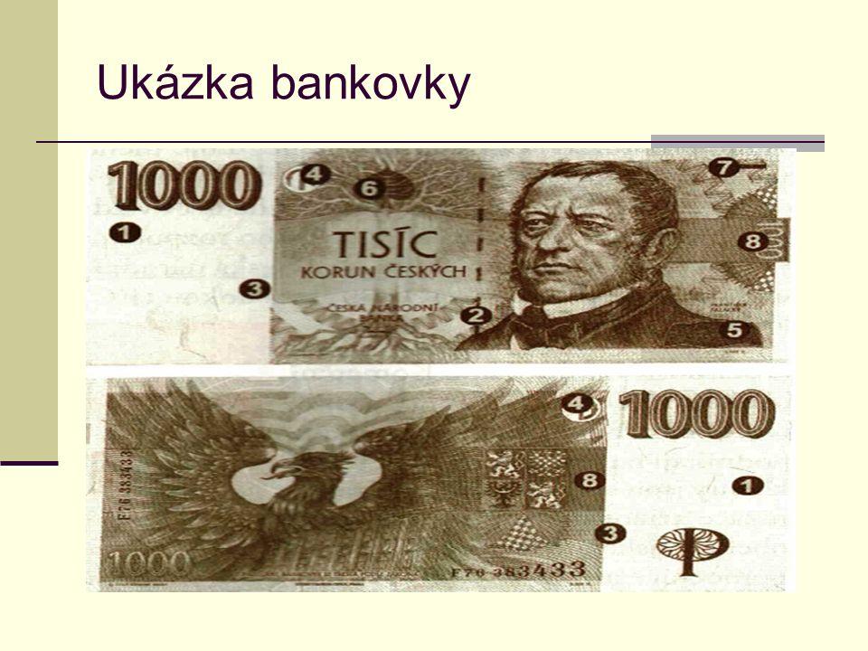 Ukázka bankovky