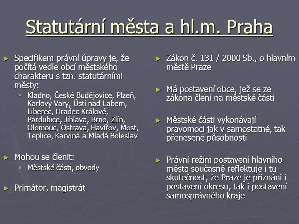 Statutární města a hl.m.