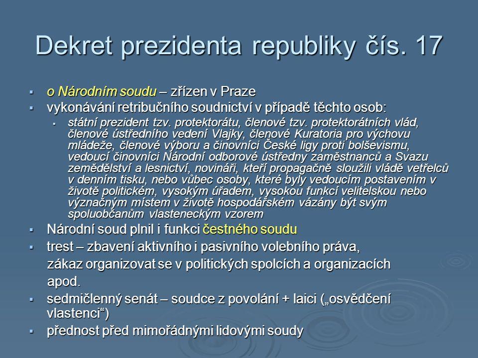 Dekret prezidenta republiky čís.