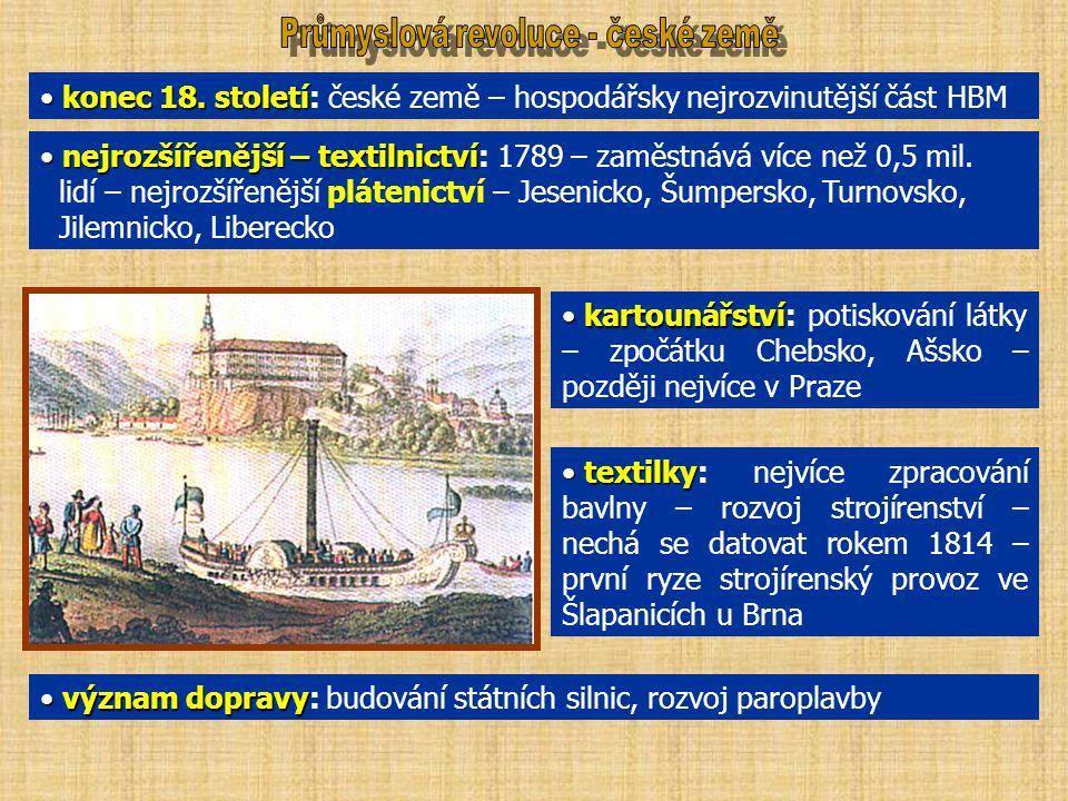 konec 18. století konec 18.