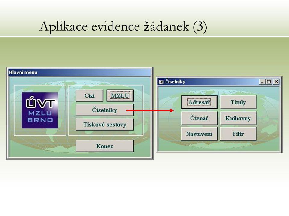 Aplikace evidence žádanek (3)