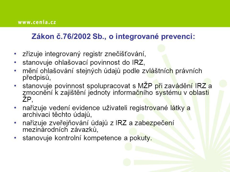 Vyhodnocení dat – web IRZ, souhrnná zpráva Dle lokality – ČR,kraj, ORP.